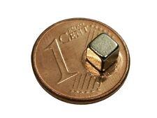 S473 Quadermagnete 8 Stück 4x4x4mm Power Magnete Neodym Magnet Würfel Pinnwand