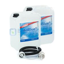 (1,94€/1L) 2x 10 Liter Kanister AdBlue von Hoyer mit Ausgießer & Füllschlauch fü