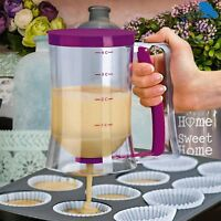 Pancake Batter Dispenser Maker Great For Baking Muffins And Cupcakes