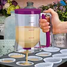 Pancake Batter Dispenser Maker Great For Baking Cupcakes And Muffins