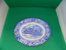 Staffordshire Liberty Blue Platter Washington Crossing The Delaware