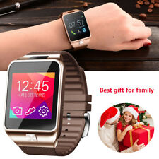 5X Bluetooth Smart Watch For Apple iPhone 6 6S 6Plus Galaxy S6 S5 S4 HTC LG G3