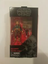 "Star Wars Black Series Maz Kanata (#49) 6"" Action Figure - Hasbro - BNIB"