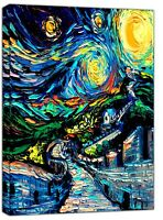 The Great Wall Oil Paint By Van Gogh Re print On Framed Canvas Wall Art Decor