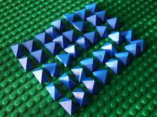 Lego Blue Roof Tiles (Castle Town City Pirates)