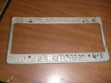 Berkeley CA Metal License Plate Frame Tag Embossed Holder