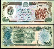 1991 P60  Afghanistan 500 Afghanis UNC Taliban Banknote