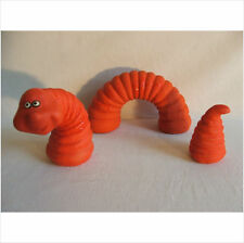 LATEX MOULD MOULDS MOLD.       3 PIECE WORM