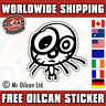 jdm kitty sticker / JDM eurolook dub vag drifting, mr oilcan 95x85mm