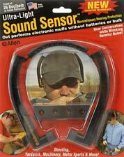 Allen Sound Sensor Hearing Protection - Ear Plugs - Folding Wrap Around - Light