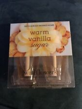 Bath And Body Works Warm Vanilla Sugar 2 Pack Of Wallflowers