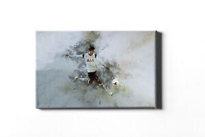 Son Heung Min Tottenham hotspur Framed Canvas Print