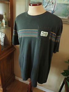 "Howler Bros Men's XXL Pocket T-Shirt ""Heed The Call"" Black Multi Color"