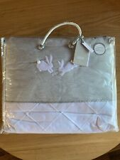 Mamas & Papas Welcome to The World Eddie The Elephant Cot/Cotbed Quilt - Grey