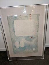 Hoi Lebedang Signed Numbered Lithograph Blue Red