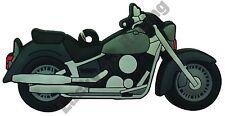 Yamaha XVS Dragstar rubber key ring motor bike cycle gift chain keyring 650 1100