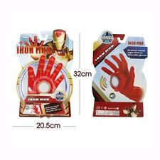 The Avengers Iron Man Glove LED Light Hand with Sound Cosplay Kids Toys