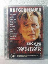 "Rutger Hauer Movie "" ESCAPE FROM SOBIBOR "" ( DVD , 1987 ) WWII Jewish holocaust"