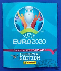 PANINI, Euro 2020 Tournament Edition, empty album Croatian version w/Coca-Cola