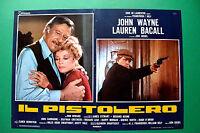 T04 Fotobusta Die Gunfighter John Wayne Lauren Bacall Don Siegel James Stewart 2