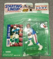 Starting lineup 1997 Eddie George Houston Oilers  NFL football figure NIP