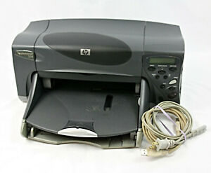 HP Photosmart 1218 Digital Photo Inkjet Color Printer w Cables WORKING
