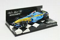 MINICHAMPS 1/43 - Renault F1 Team Showcar 2005 Fernando Alonso NUEVO 400050075