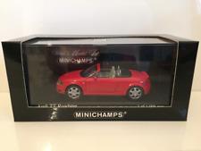 1 43 Minichamps Audi TT Roadster 1999 red
