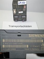 Siemens 6es7972-0ab01-0xa0 Diagnostic Repeater danneggiato