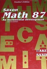 Saxon Math 87 - Teacher's Edition by Stephen Hake