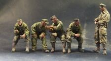 AC Models German Panzer Crew at rest 5 figure set  WW2 1/35th Unpainted kit