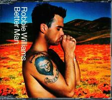 ROBBIE WILLIAMS BETTER MAN 5 TRACK AUSTRALIAN PRESSING CD - EXCELLENT - VGC