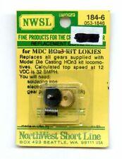 HOn3 NWSL 184-6 Gear Set for MDC HOn3 Locomotives - NIB