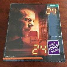 "Jack Bauer ""24"" Jigsaw Puzzle 300 Pieces - NEW SEALED"