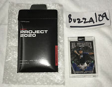 Topps PROJECT 2020 Card #132 ~ 1993 Derek Jeter Rookie RC~~ BEN BALLER FREE SHIP