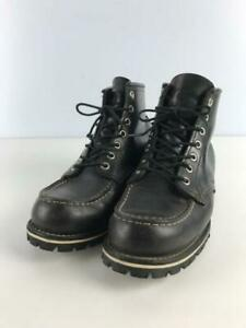 RED WING Lace Up 6 Inchitu 8179 Us6.5 Size US 6.5 black From Japan boots