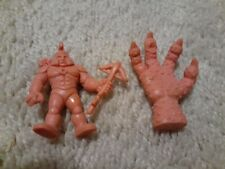 Vintage 1980's Muscle Men #153 The Claw/The Hand Action Figure Lot and 1 other