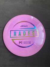 New - Discraft Paul McBeth - Esp Hades - Weighed 172g - Pink - Rainbow Stamp