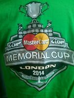 London Knights Tim Hortons Master Card Memorial Cup T-Shirt OHL CHL