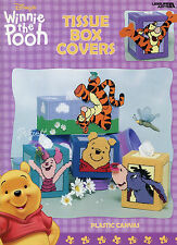 Winnie the Pooh Tissue Box Covers ~ Pooh Characters plastic canvas patterns