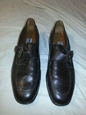 """9 M Etienne Aigner Easentials Brown Soft Leather 1"""" Heels Shoes EUC"""