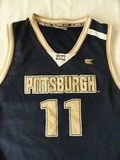 Pittsburgh Panthers L/XL navy replica game tank jersey Colosseum Athletics NCAA