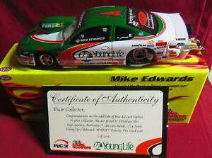 MIKE EDWARDS, 1/24 2005 AUTHENTICS PONTIAC PRO STOCK, YOUNG LIFE RACING, 1/1002