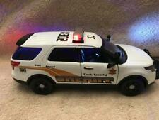 1/18 SCALE DIECAST COOK COUNTY ILL POLICE  FORD SUV W/WORKING LIGHTS AND SIREN