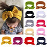 Baby Toddler Girls Hair Band Kids Bow-knot Turban Newborn Headband Soft Headwrap