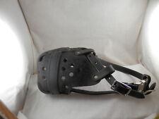 RedLine DSG Leather Agitation K9 Police Muzzle XL