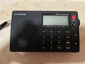 C. Crane CC Skywave AM,FM, Shortwave, NOAA Weather and Airband Radio Used