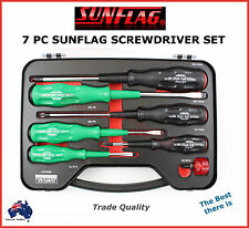SUNFLAG SCREWDRIVER SET MADE IN JAPAN PROFESSIONAL QUALITY BEST THERE IS SPECIAL
