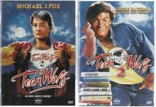 TEEN WOLF + TEEN WOLF 2 ... MICHAEL J FOX, JASON BATEMAN ....  LOT 2 DVD