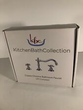 kitchen bath collection - (classic chrome bathroom faucet) UPC COMPLIANT (new)